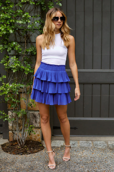fab'rik - Emmeline Pleated Mini Skirt image thumbnail