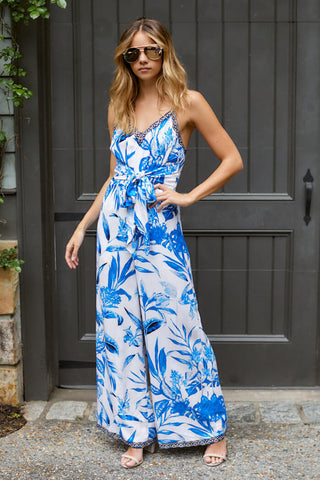 Kinsley Printed Jumpsuit