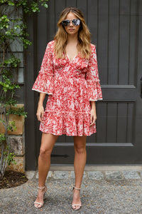 Brooklyn Tiered Mini Dress