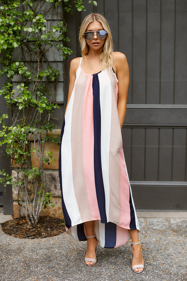 PreOrder Olivia Stripe Maxi Dress
