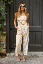 Load image into Gallery viewer, SALE - Tori Sleeveless Tie Front Jumpsuit