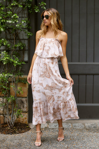 Emerie Printed Maxi Dress