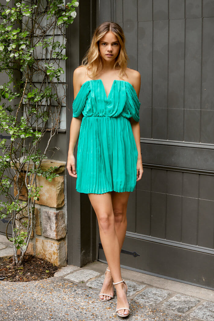 fab'rik - Monterrey Pleated Cocktail Dress ProductImage-13810561253434
