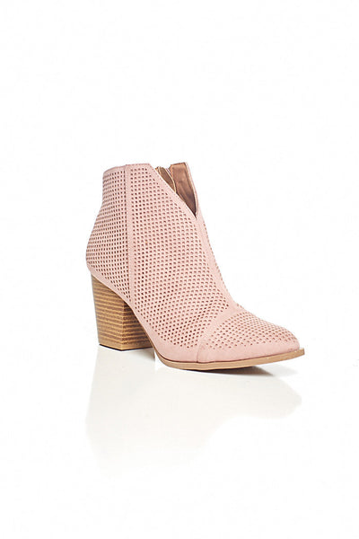 fab'rik - PRESLIE PERFORATED BOOTIE image thumbnail