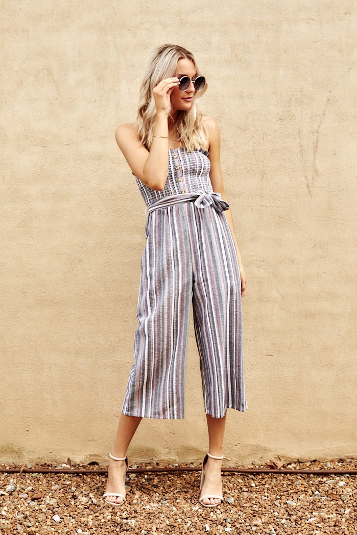 fab'rik - Mikayla Striped Jumpsuit ProductImage-7936841613370
