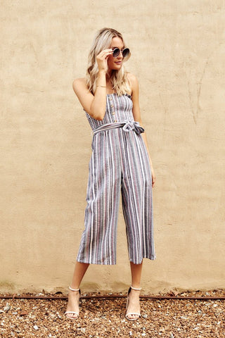 Mikayla Striped Jumpsuit