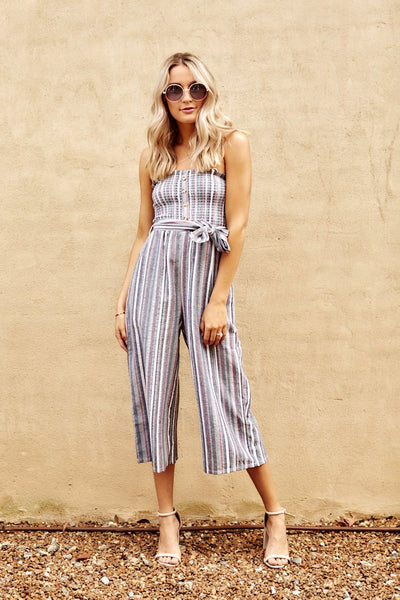 fab'rik - Mikayla Striped Jumpsuit image thumbnail