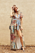 Load image into Gallery viewer, Verona Bohemian Printed Romper