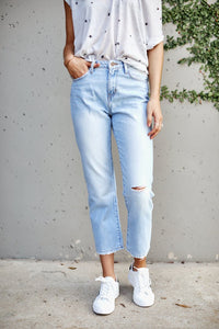 fab'rik - High Rise Straight Leg Denim ProductImage-7960490606650
