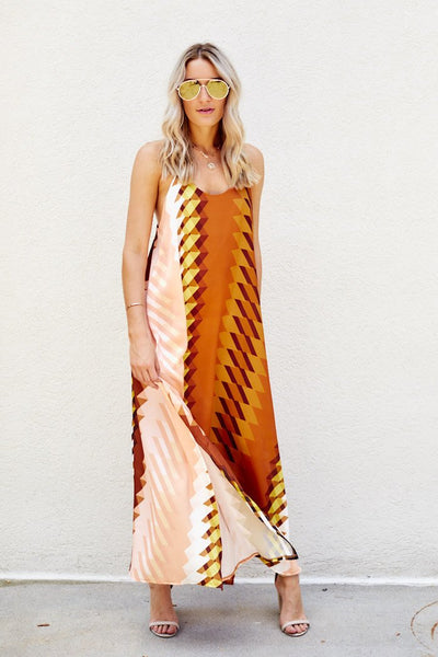 fab'rik - Kacie Printed Maxi Dress image thumbnail