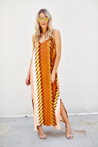 Kacie Printed Maxi Dress