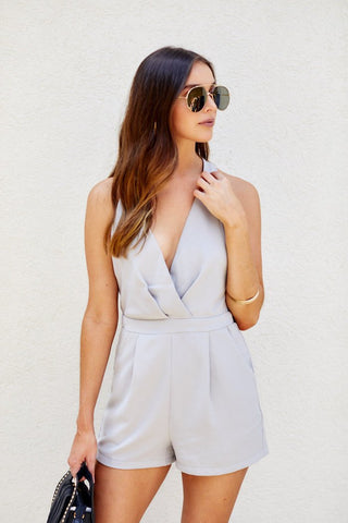 Preston Surplice Romper