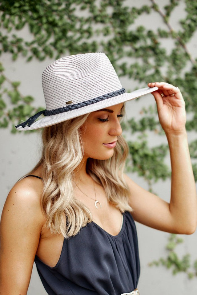 Braided Tassel Straw Hat