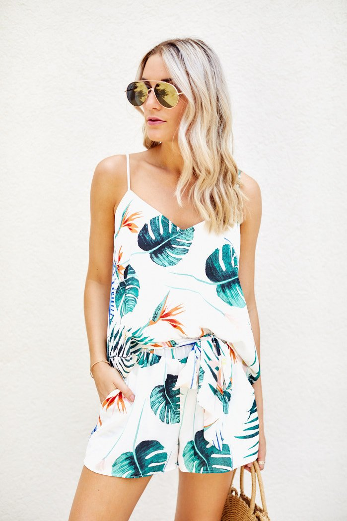 fab'rik - Delilah Tropical Print Tank ProductImage-7977085993018
