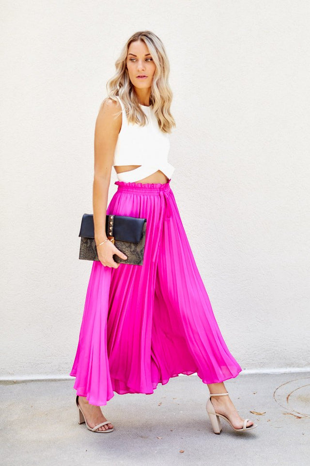 PreOrder Carmen Pleated Palazzo Pants