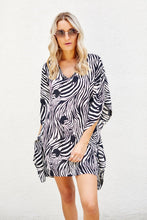 Load image into Gallery viewer, Milly Zebra Swim Cover Up