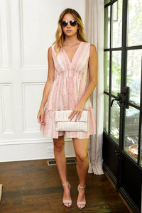 Delaney Tiered Mini Dress
