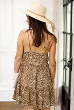 Load image into Gallery viewer, Harper Sleeveless Leopard Mini Dress