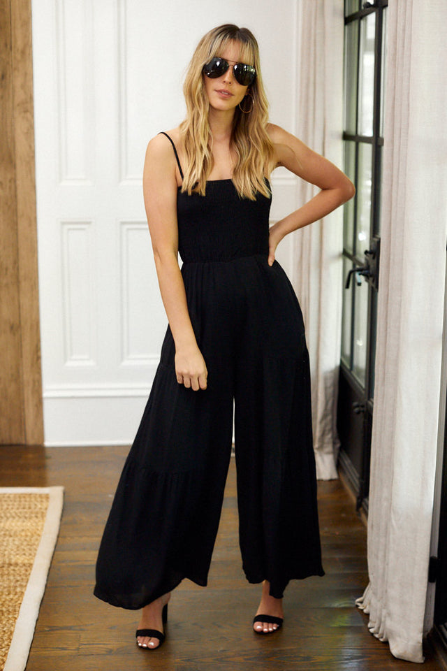 PreOrder Dawn Wide Leg Cropped Jumpsuit
