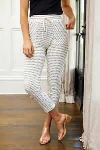 SALE - Audrey Stripe Lounge Pant