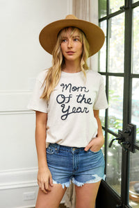Mom of the Year Graphic Tee