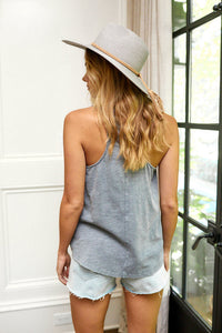 Bentley V-Neck Sleeveless Tank