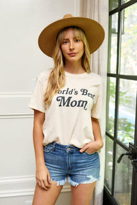 fab'rik - World's Best Mom Graphic Tee ProductImage-13868176965690