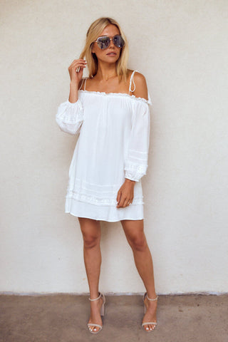 PreOrder Rowen Cold Shoulder Dress