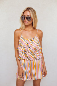 SALE - Estella Stripe Romper