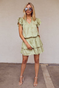 Rhodes Smocked Waist Mini Dress