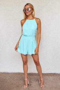 Karrington Sleeveless Tie Back Romper