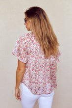 Load image into Gallery viewer, SALE - Charleigh Short Sleeve Blouse