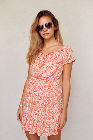 PreOrder Wisteria Off Shoulder Dress