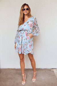 PreOrder Lizzy Floral Long Sleeve Dress