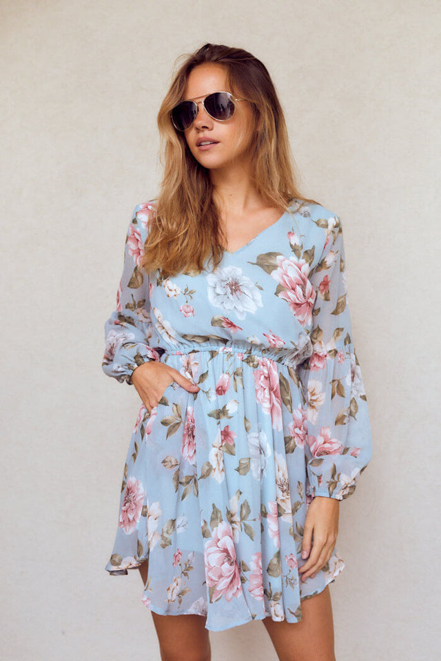 Lizzy Floral Long Sleeve Dress