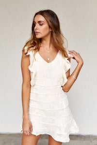 Dawn Textured Mini Dress