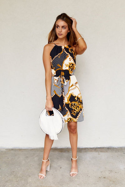 fab'rik - Andi Printed Mini Dress image thumbnail