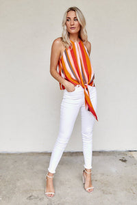 fab'rik - Stevie Stripe High Neck Tank ProductImage-8111194832954