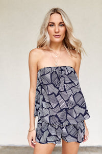 fab'rik - Leigh Printed Strapless Top ProductImage-8111196536890
