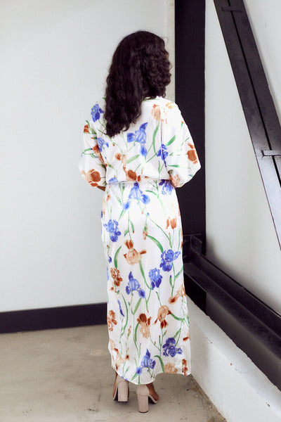 fab'rik - PreOrder Lacey Floral Maxi Dress image thumbnail