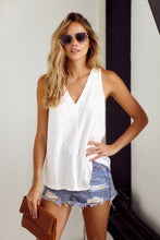 Load image into Gallery viewer, Bentley V-Neck Sleeveless Tank