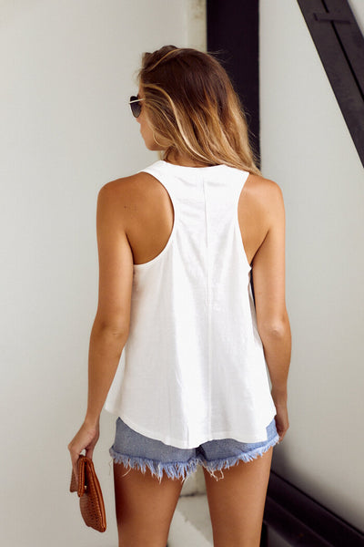 fab'rik - Bentley V-Neck Sleeveless Tank image thumbnail
