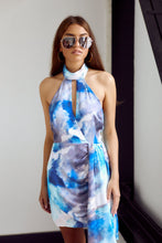 Load image into Gallery viewer, SALE - Lola High Neck Printed Dress