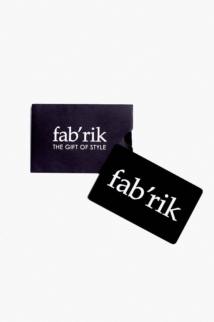 fab'rik - In-Store Gift Card ProductImage-14006904651834