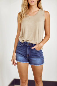 SALE - Annie Frayed Hem Short
