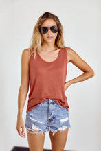 Load image into Gallery viewer, SALE - Caroline Scoop Neck Tank