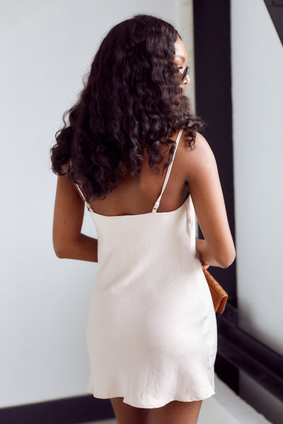 fab'rik - Florence Cowl Neck Slip Dress image thumbnail