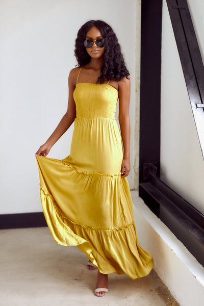 fab'rik - PreOrder Ceilla Tiered Maxi Dress image thumbnail