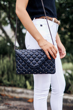 Load image into Gallery viewer, Lorena Studded Quilted Crossbody