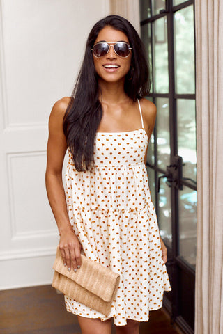 Amie Embroidered Babydoll Dress